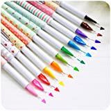 Office Supplies Best Deals - Creative design korea stationery mini multicolour pen 0.5mm resurrect water-based pen 10 different color