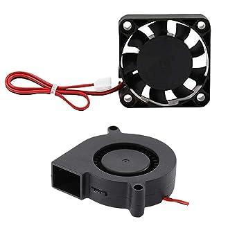 Impresora 3D Ventilador Ventilador Ventilador DC 24V 40x10