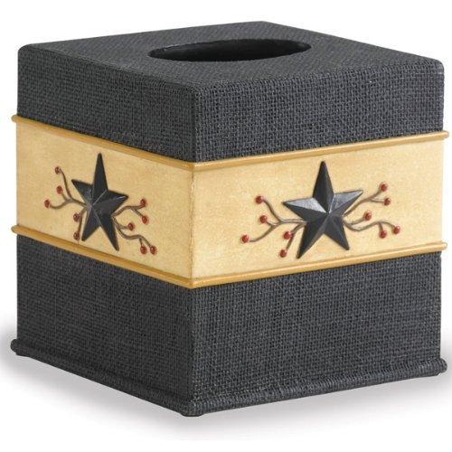 Park Designs Star Vine Tissue Box Cover