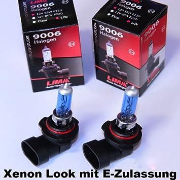 2 Stück LIMA H7 12V Xenon Look 55W Halogen Lampe super weiss