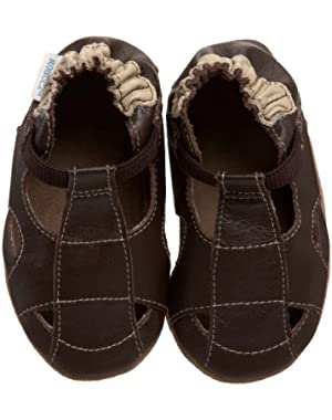 Soft Soles Sandal Crib Shoe (Infant/Toddler)