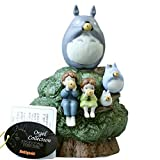 Studio Ghibli My Neighbor Totoro Ceramic Music Box (Playing Ocarinas)