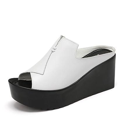 Pantofole HAIZHEN Scarpe da Donna 8.5cm Sandali Sandali
