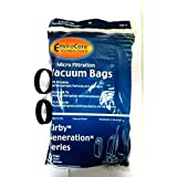 Kirby Generation 1,2,3,4,5,6 and Ultimate G Allergen Filtration Bags (9 BAGS & 2 BELTS)