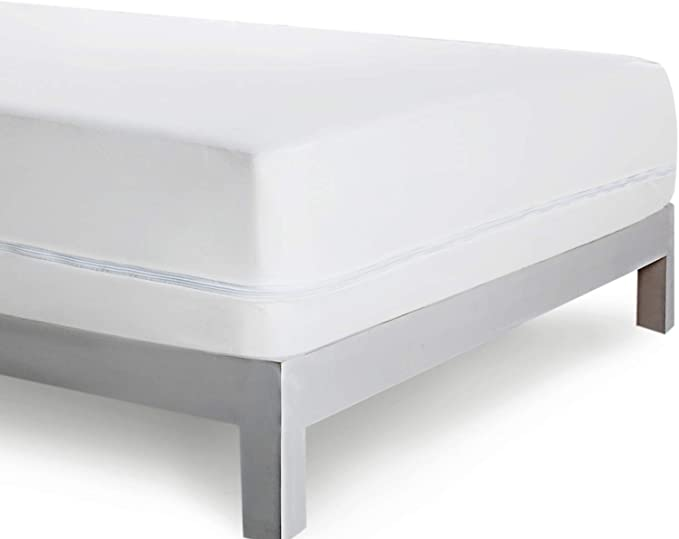 Bedsure Protector colchón Impermeable Antiacaros 160x190/200 cm ...