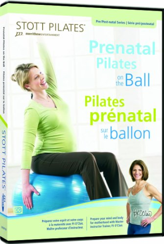 STOTT PILATES Prenatal Pilates on the Ball (English/French)