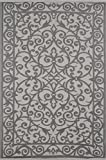 Lightweight Indoor Outdoor Mold resistant, Suitable for hot decks, UV proof, Snow proof, Plastic Gala Rug (5 x 8, Taupe Grey/Cream)