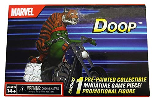 2019 SDCC Exclusive Heroclix Doop On Chopper with Tiger Miniature Game Piece (Best Of Wizkid 2019)