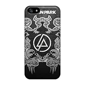Anti-Scratch Cell-phone Hard Cover For Iphone 5/5s With Support Your Personal Customized Lifelike Linkin Park Skin PhilHolmes