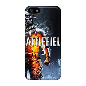 7AM Protective Case For Iphone 5/5s(battlefield 3)