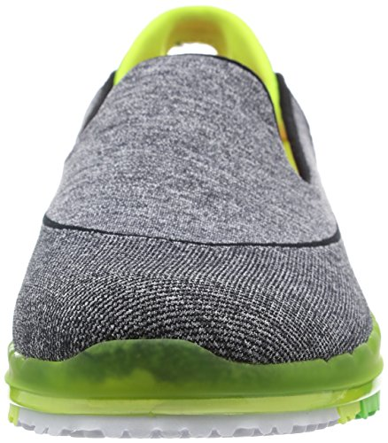 Skechers Performance Womens Go Slip Chaussure De Marche Slip-on Noir / Citron Vert