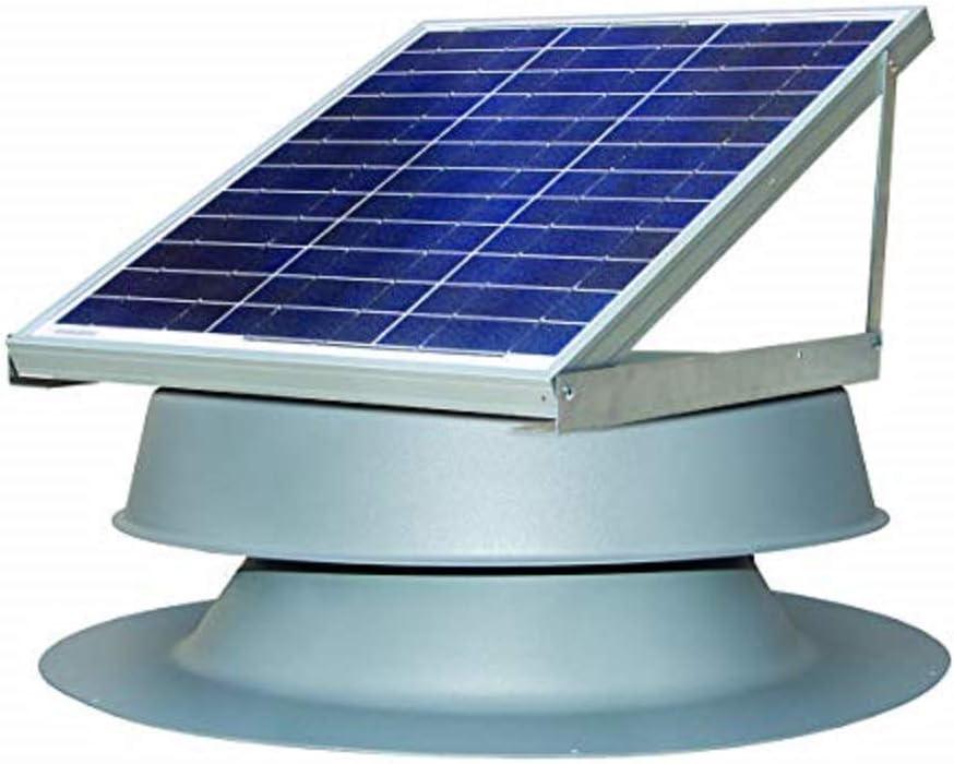 Solar Attic Fan- Natural Light