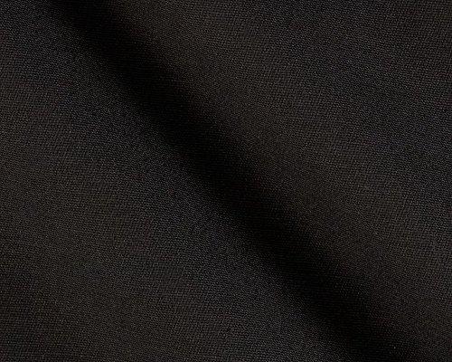 Stetch Poly Twill Fabric, 4-Way Stretch Twill Fabric, Poly Twill Fabric, Stretch Twill Fabric, Twill Fabric-BLACK JET
