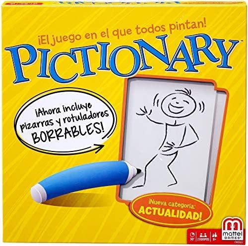 Mattel Games - Pictionary, Juegos de Mesa (Mattel DKD51): Amazon ...