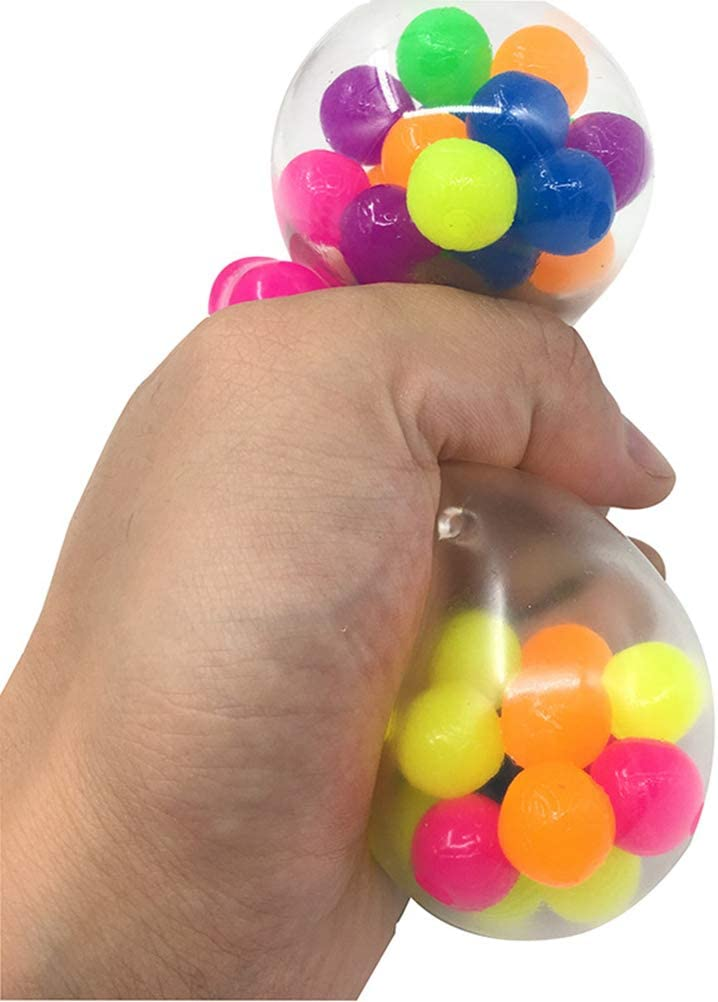 GASF Lot de 3 balles anti-stress pour enfants et adultes