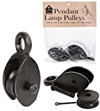 Hanging Pulleys for Pendant Lamps- Set of 2
