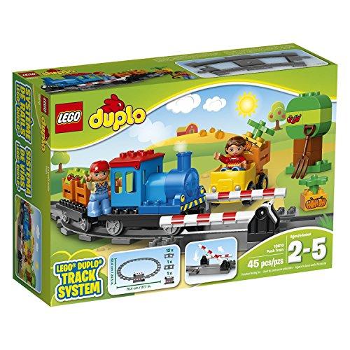 LEGO Duplo 10810 45 Piece Push Train Track System