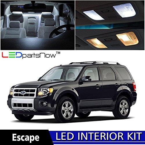 Ledpartsnow 2008 2012 ford escape led interior lights - Ford escape interior accessories ...