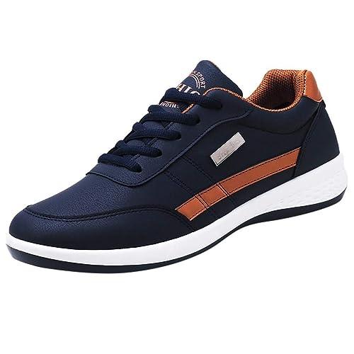QUICKLYLY Zapatillas Hombres/Mujer Deporte Running Zapatos ...