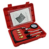 Cylinder Compression Tester Kit Professional Mechanics Gas Engine Motor