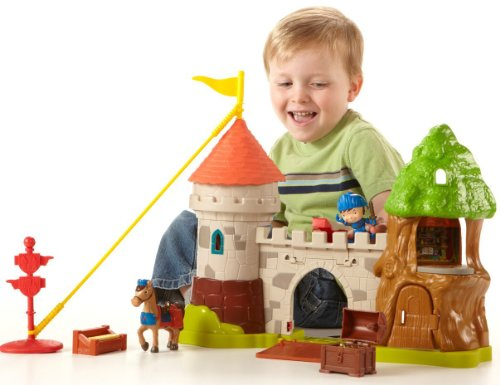 Price Fisher Castle - Fisher-Price Mike the Knight: Glendragon Castle Playset