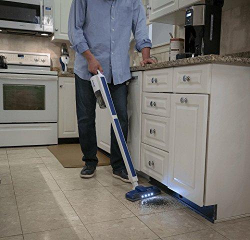 CLEANOVATION'S ReadiVac EAZE Cordless Lithium-ion Vacuum Cleaner – Cleans Carpet, Hardwood, Laminate, or Your Car – College Dorm Powerful