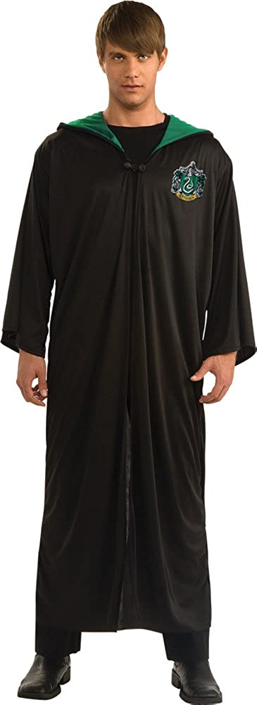 DISC0UNTST0RE Slytherin Robe Adult Std Halloween Costume - Most Adults