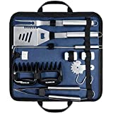 Best Bbq Tool Sets - BBQ Tools Set Stainless Steel Barbecue Heavy Duty Review