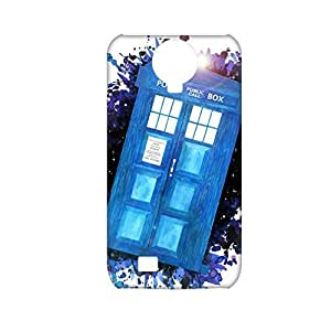 Generic Protective Phone Case For Girl Print With Tardis For Samsung Galaxy S4 Full Body Choose Design 1-1