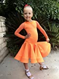 Dance Ballroom Dress Competition Basic Dancing Dress Girls Size