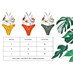 CheChury-Costumi-Brasiliana-Donna-Mare-Due-Pezzi-Push-Up-Imbottito-Costume-da-Bagno-Sollevamento-Stampa-Vita-Alta-Bikini-Tezenis-Donna
