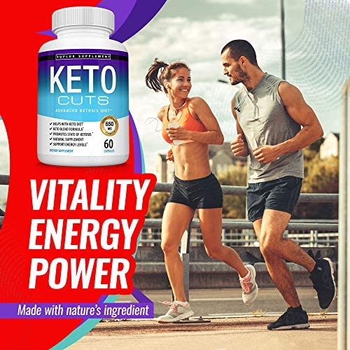 Keto Cuts Pills Ketosis Diet - Support Energy Using Ketogenic Diet, Keto Diet Pills, Men Women, 60 Capsules, Lux Supplement 3