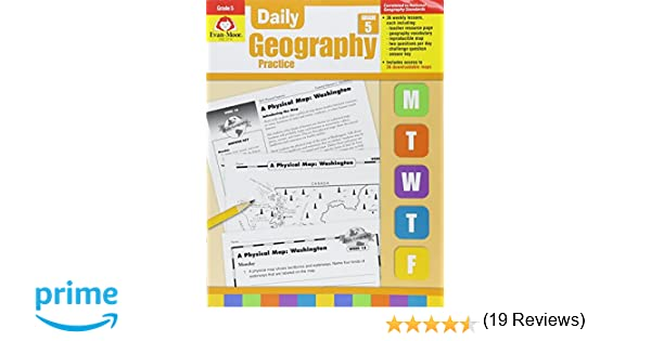 Workbook continents for kids worksheets : Amazon.com: Daily Geography Practice Grade 5 (9781557999740): Evan ...