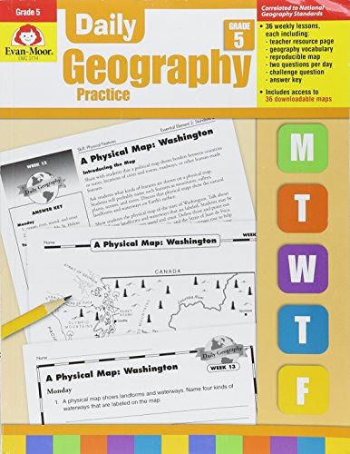 Daily Geography Practice Grade 5 -
