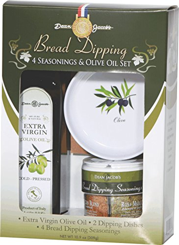 Dean Jacob's Bread Dipping for 2 (Boxed Set) (Herbs Dipping)