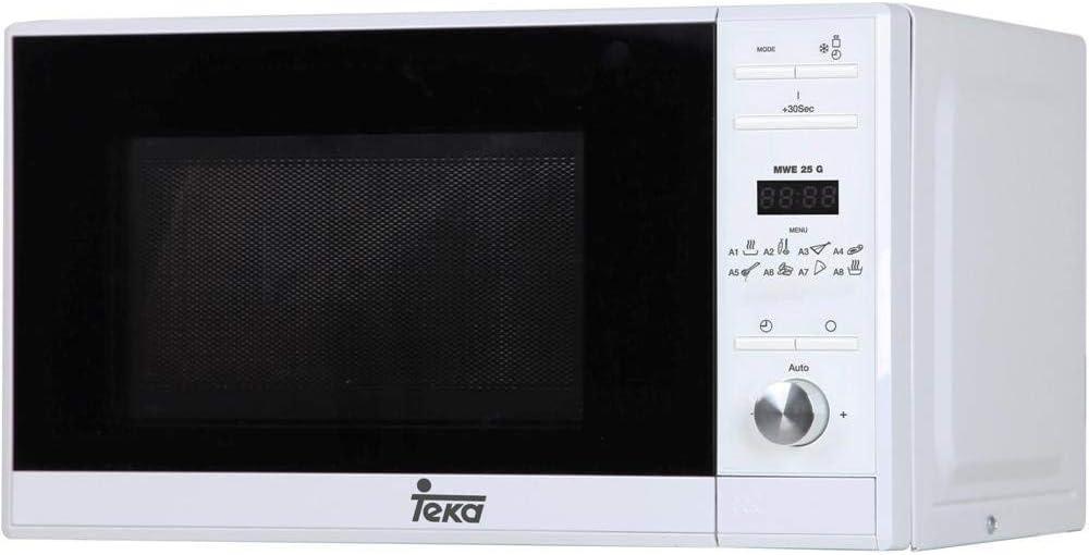 Teka MWE 225 G Microondas con grill, 1050 W, 20 litros, Otro, Blanco
