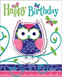 Creative Converting Owl Pal Party Invitations (24 Count)