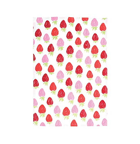 (MU Kitchen Designer Print Kitchen Towel, Strawberry)