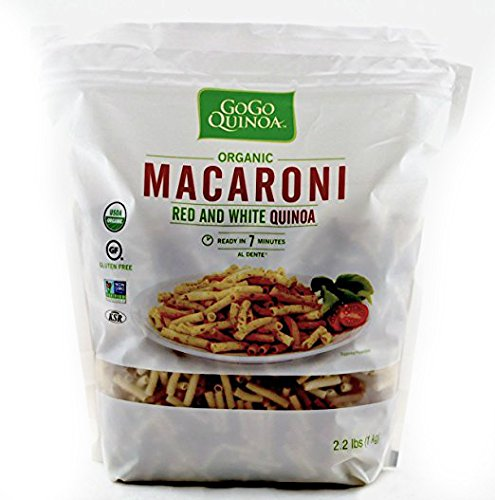 Organic Gluten-Free Quinoa Macaroni Pasta, 2.2 lb