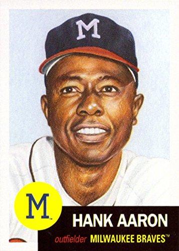 - 2018 Topps Living Set #46 Hank Aaron Baseball Card Atlanta Braves - Only 11,233 made!