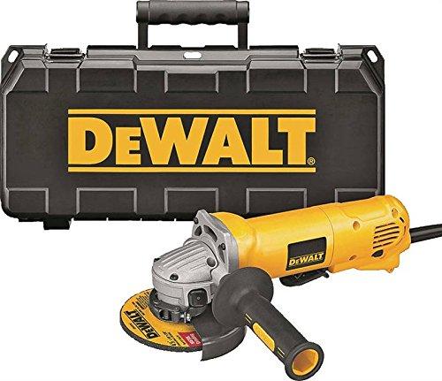 DEWALT DWE402K 4-1/2-Inch 11-Amp Angle Grinder Kit by DEWALT