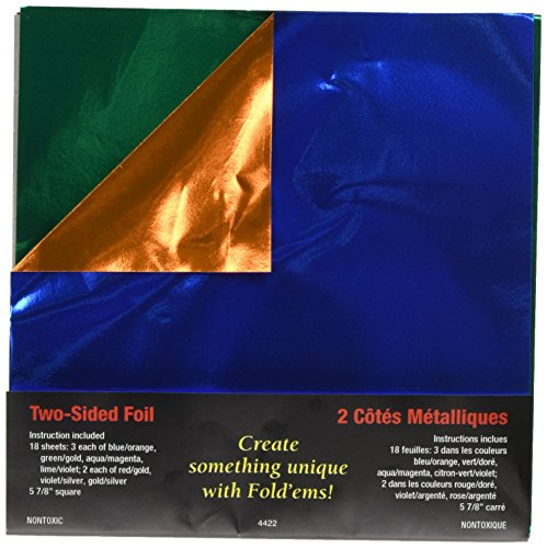 (Yasutomo Fold 'EMS Origami Double-Sided Foil Paper 5.875