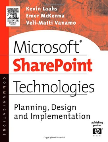 Microsoft SharePoint Technologies: Planning, Design and Implementation (HP Technologies) Pdf