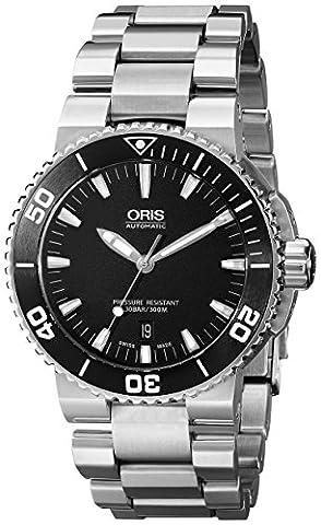Oris Men's 73376534154MB Analog Display Swiss Automatic Silver Watch (Watch Automatic Oris)