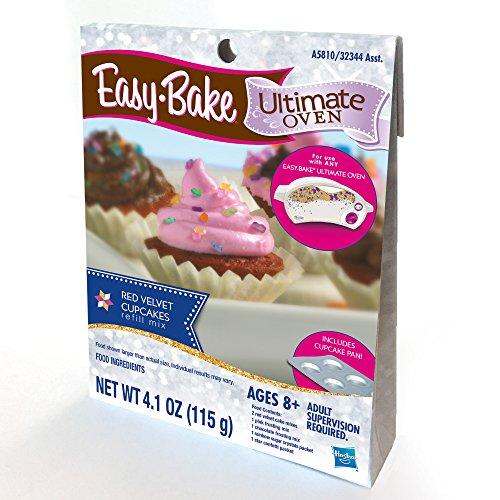 Easy Bake Ultimate Oven Red Velvet Cupcakes Refill Pack New