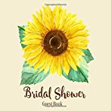 Bridal Shower Guest Book: Sunflower Rustic Country