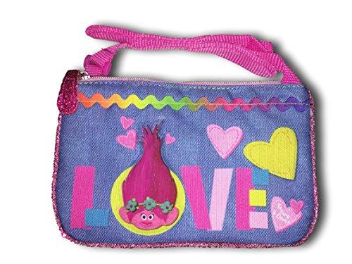 Girls Cross Body Handbags Pocketbooks Frozen, Hello Kitty, Shopkins, Wonder Woman & Emoji (Trolls Love)