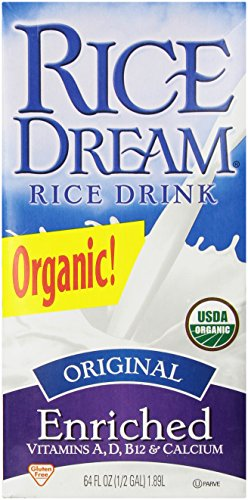 RICE DREAM Enriched Original Organic Rice Drink, 64 Fluid Ounce (Rice Drink Dream Rice)