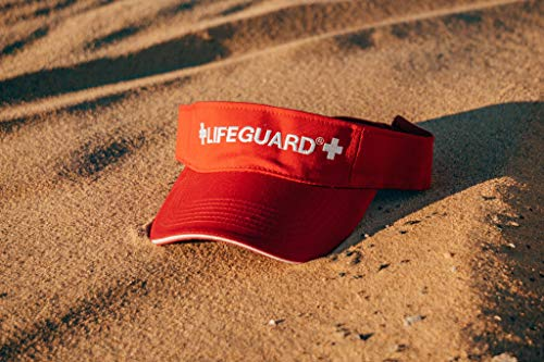 6d28222dae29 LIFEGUARD Official Adjustable Visor (Red White) available in the UAE ...