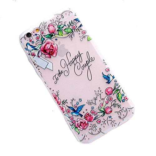 Fashion Frosted Floral for iPhone 6 6S iPhone 7 Soft Silicone Shell 8 Plus X,2,for iPhone x - Southport Two Light